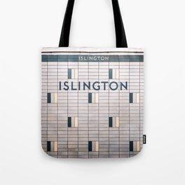 Islington Station Toronto Subway Sign Tote Bag