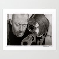 leon Art Prints featuring Leon by Giampaolo Casarini