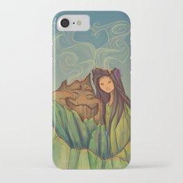 Volcano Love iPhone Case