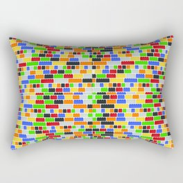 Builiding Blocks Rectangular Pillow