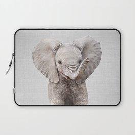 Baby Elephant - Colorful Laptop Sleeve
