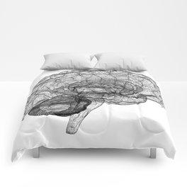 DELAUNAY BRAIN w/b Comforters