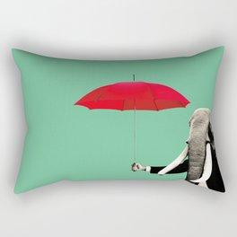 Elephant man Rectangular Pillow