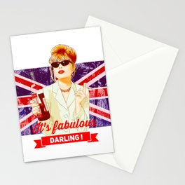 Patsy Stone AbFab absolutely Fabulous Stationery Cards