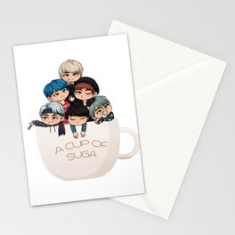 A Cup of Suga Stationery Cards