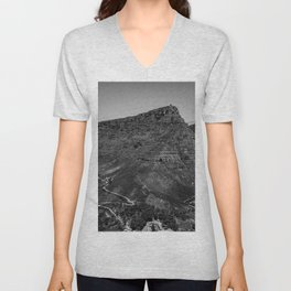 Table Mountain Panorama (Cape Town, South Africa) Unisex V-Neck