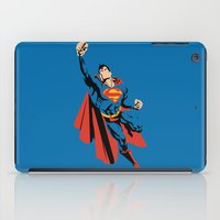 dc iPad Cases featuring DC - Superman by TracingHorses