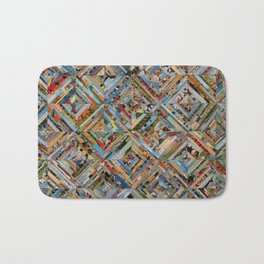 Texas Kaleidoscope Bath Mat