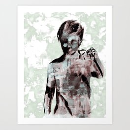 Boy Shattered Art Print