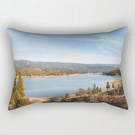 Bass Lake, California Rectangular Pillow