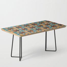 Orange Square Coffee Table
