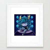 homestuck Framed Art Prints featuring Virska  Serket - Homestuck by Kapika