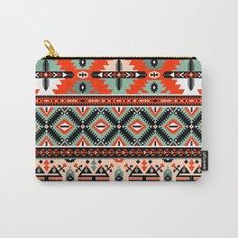 Boho Navajo Geometric Pattern Carry-All Pouch