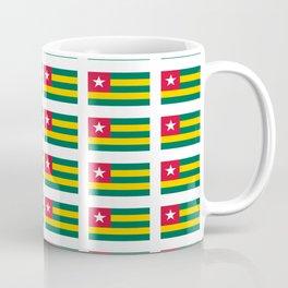 Flag of Togo -togolais,togolaise,togolese,Lomé,Sokodé,Ewe,Mina. Coffee Mug