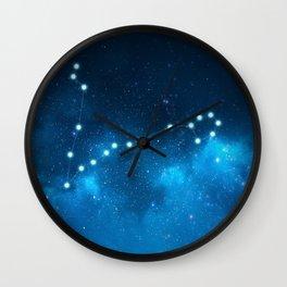 Pisces: Astrological Art Wall Clock
