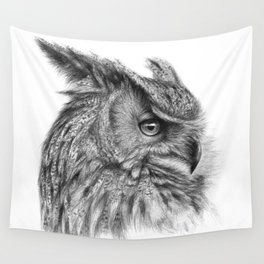 Eagle Owl G085 Wall Tapestry