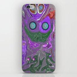 Born To The Purple iPhone Skin