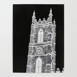 inverted church tower Poster