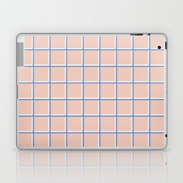MINIMAL GRID PINK Laptop & iPad Skin