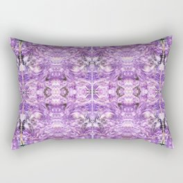 lilac stone flower Rectangular Pillow