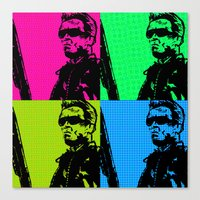 terminator Canvas Prints featuring Terminator by Bolin Cradley Art