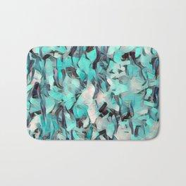 Confetti Caribbean Aqua Bath Mat
