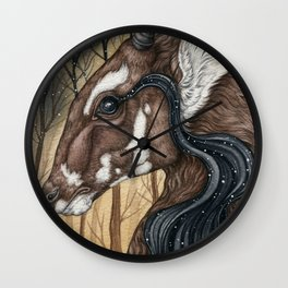 Song of the Saola Wall Clock