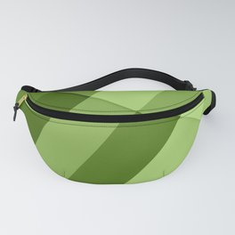 Greenery modern geometric lines Fanny Pack