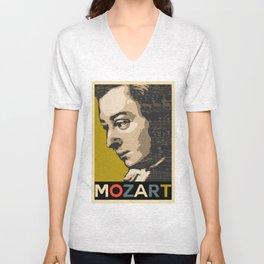 Mozart Unisex V-Neck