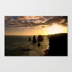 Twelve Apostles at Dusk Canvas Print
