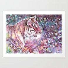 Wild.  Art Print