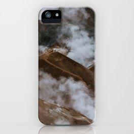 Kerlingjarfjöll smoky Mountains in Iceland - Landscape Photography iPhone Case