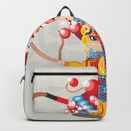 Beijing Opera Character HuSanNiang Backpack