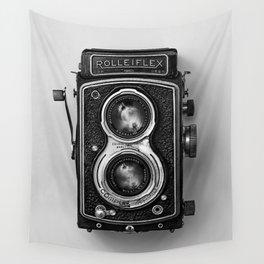 Rolliflex Camera Wall Tapestry