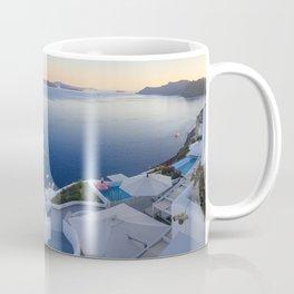 Stairways in Oia Santorini Coffee Mug