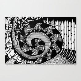 Wheeling Around Canvas Print