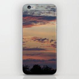 Vibrant Clouds iPhone Skin