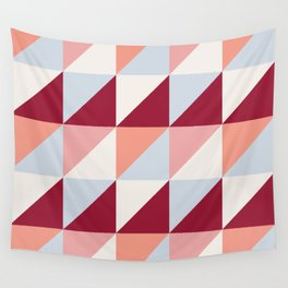 Trio (maroon) Wall Tapestry