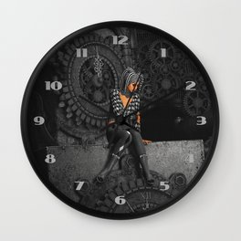 The Time Runs Off Wall Clock