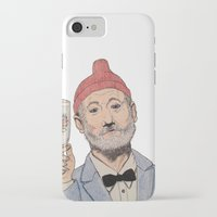 zissou iPhone & iPod Cases featuring Zissou by The A B Project