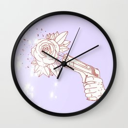 Aw, Shoot. Wall Clock