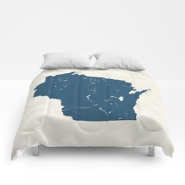 Wisconsin Parks - v2 Comforters