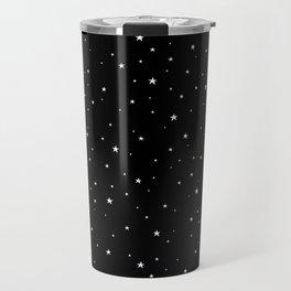 Tiny Stars Dark Travel Mug