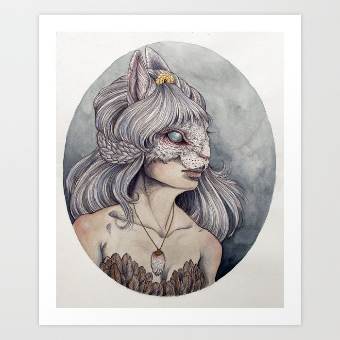 At What Cost Art Print