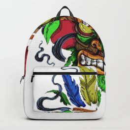 Face in Colors Backpack