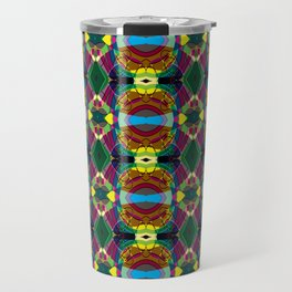 Kaleidascope  Travel Mug