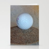 golf Stationery Cards featuring Golf by LoRo  Art & Pictures