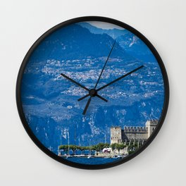 Garda Lake, Italy Wall Clock