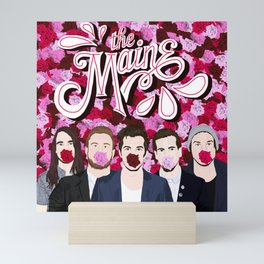 The Maine roses Mini Art Print