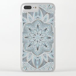 Winters Frost Clear iPhone Case